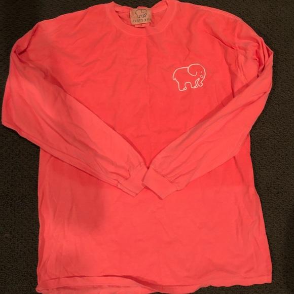 98a03a822 ivory ella Tops - Bright coral ivory Ella long sleeve t shirt